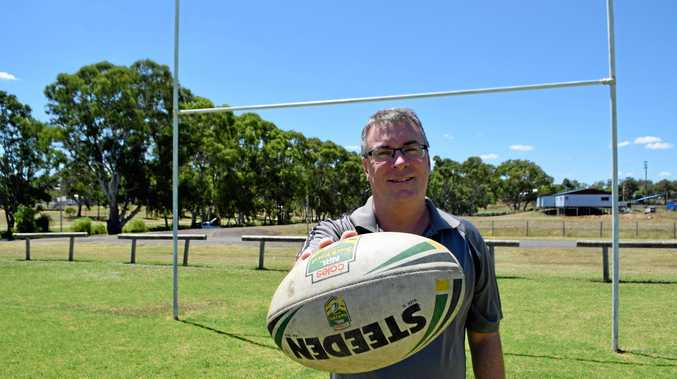 FOOTY FEVER: New Warwick Touch Football Association president Justin Nolan is looking forward to another big year.