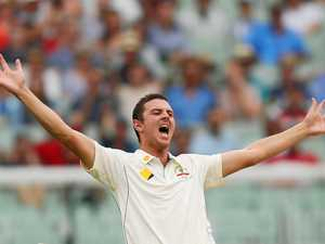 Hazlewood cracks a ton ... with the ball