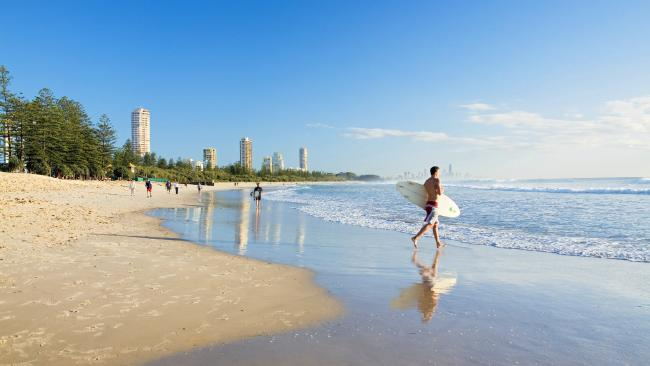 Burleigh Heads, Gold Coast. Picture: Tourism and Events Queensland