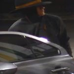 Police have released this CCTV image of the man who tried to rob a service station at Pomona.