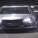 Police have released this CCTV image of the car the attempted armed robber fled the scene in.