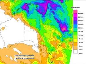 Sweaty days then rain as 'possible cyclone developing'