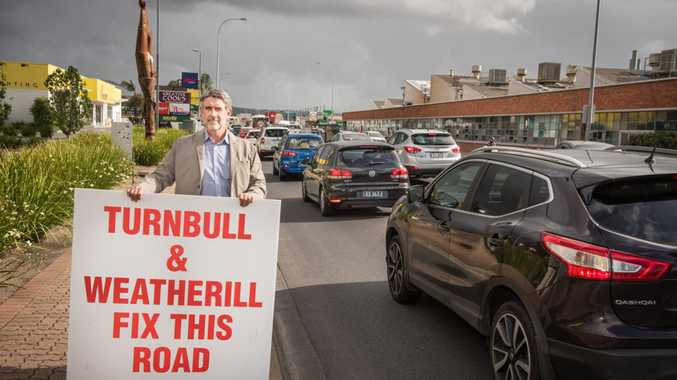 CCF Phil Sutherland on South Rd on December 29. The organisation has called on the SA and federal governments to commit funding past 2018.