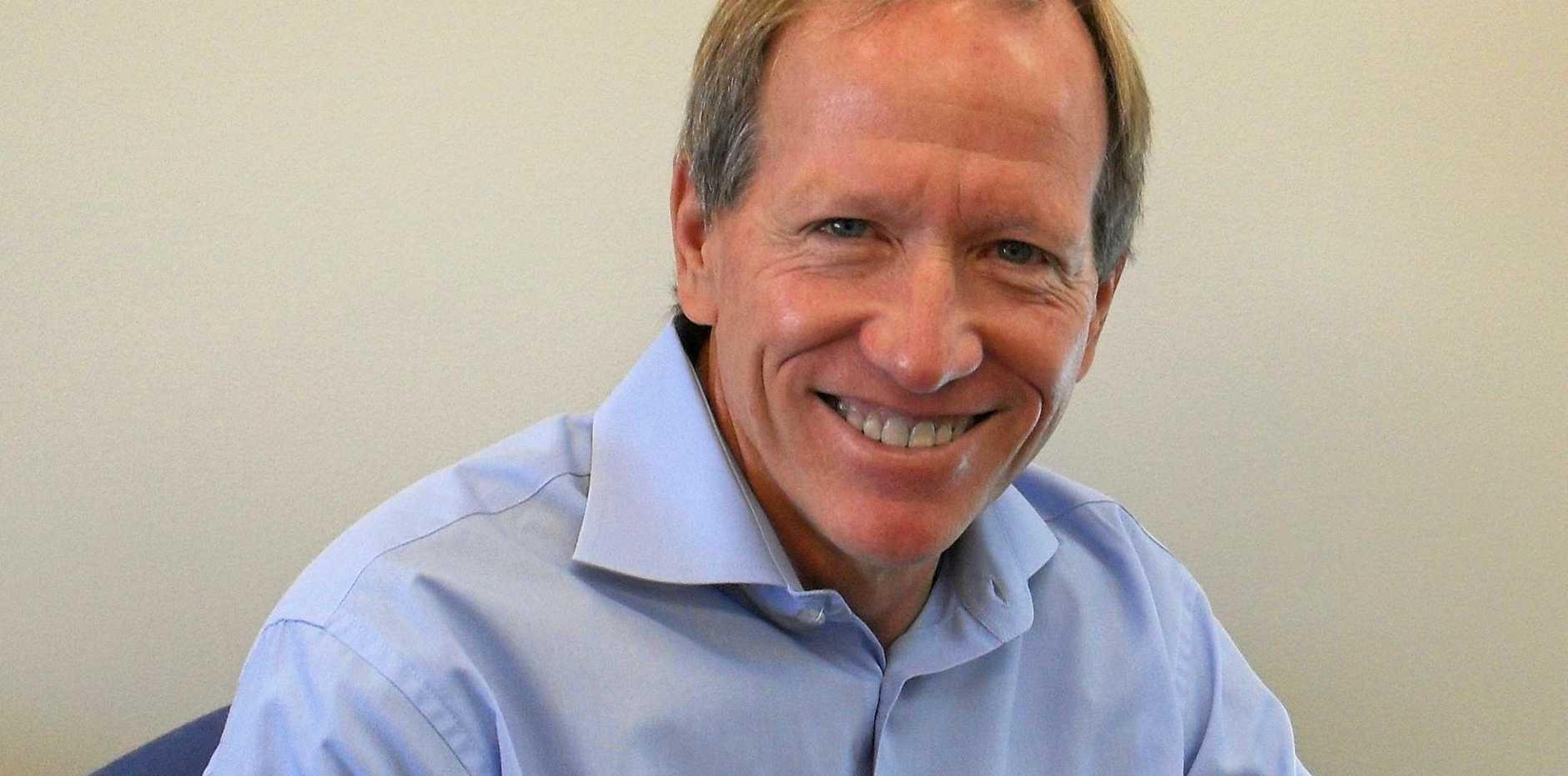 SIMPLE PHILOSOPHY: Professor John Lowe, head of school and sports sciences at Sunshine Coast University.