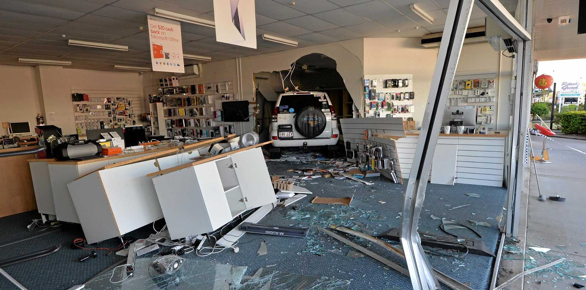 CRASH: Collisions with stationary objects, including buildings, were the most common form of accidents on the Sunshine Coast, according to insurer AAMI.