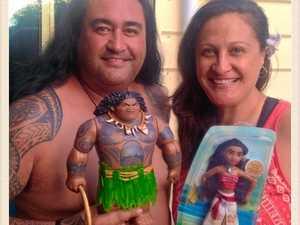 MOANA?! Disney doppelganger found in Hervey Bay