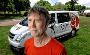 Rosies - Friends on the Street Ipswich co-ordinator Barry Rienecker.