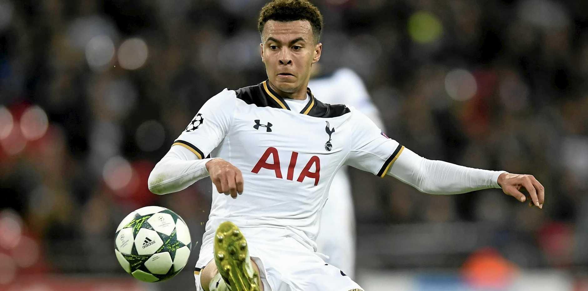 Dele Alli of Tottenham.