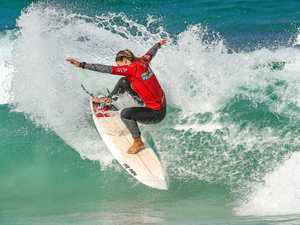 Ten-year wait over for Pro Junior event on Coast