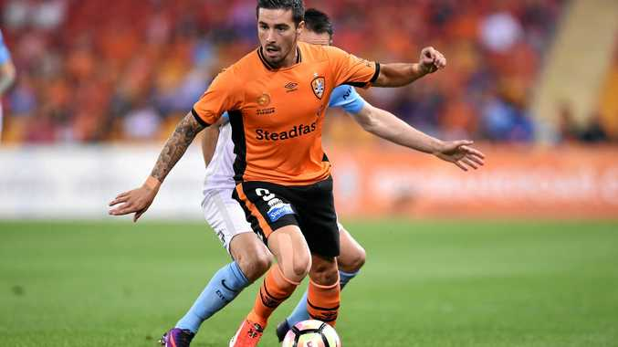 Jamie Maclaren of the Brisbane Roar.