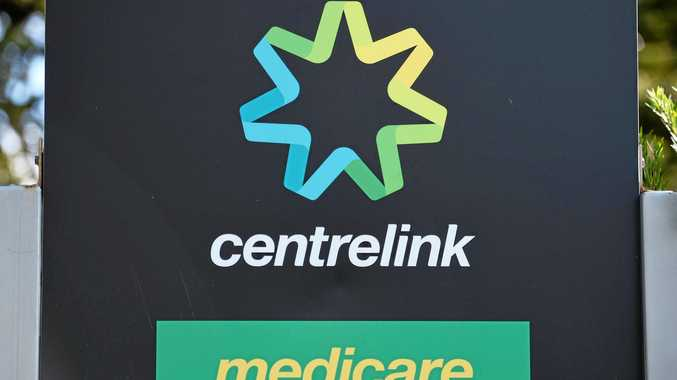 Medicare and Centrelink signs in Melbourne, Saturday, June, 25, 2016.  (AAP Image/Tracey Nearmy) NO ARCHIVING
