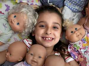 Girl rescues dolls for other youngsters to love