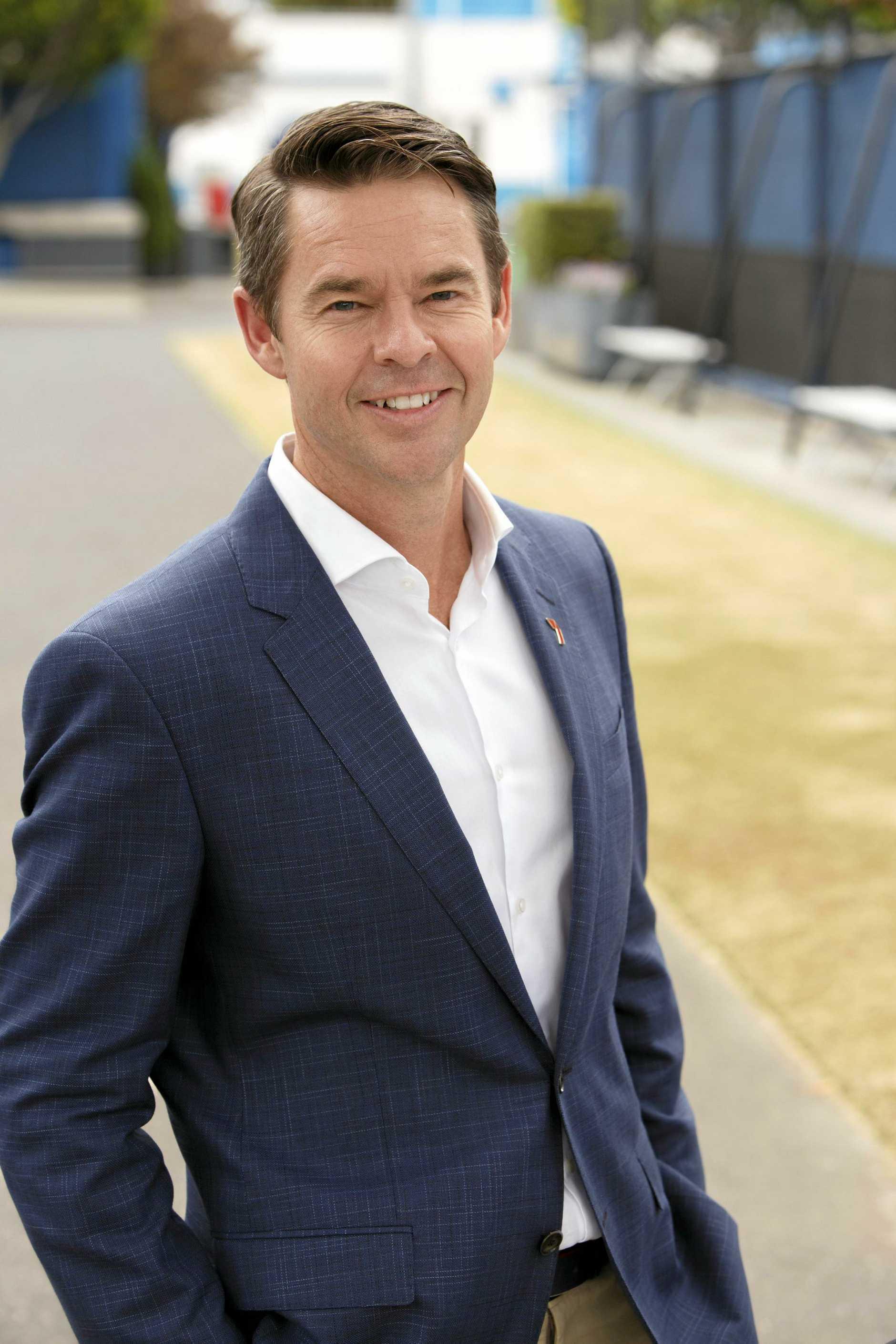 Channel Seven tennis commentator Todd Woodbridge.