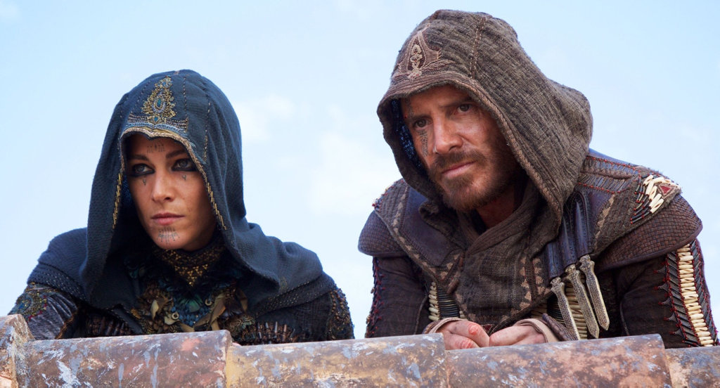 Ariane Labed and Michael Fassbender play master assassins in the movie Assassin's Creed.