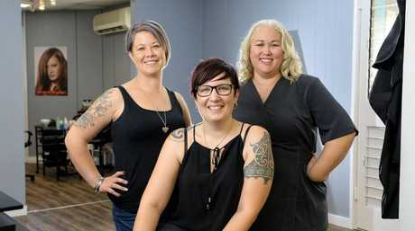 Voice Hair and Beauty has opened on the top floor of the Nolan's building in the Ipswich CBD. Julene Simpson (nails), Tess Claris (hair) and Teresa LeLievre (beauty).