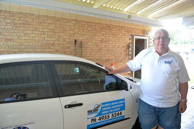 Wayne Bell has been a driving instructor in the region for 16 years, before that he was in the Queensland Police Service fo 22 years.