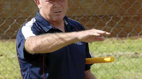 ROLE MODEL: Australian cricket legend Craig McDermott trains emerging young fast bowlers.