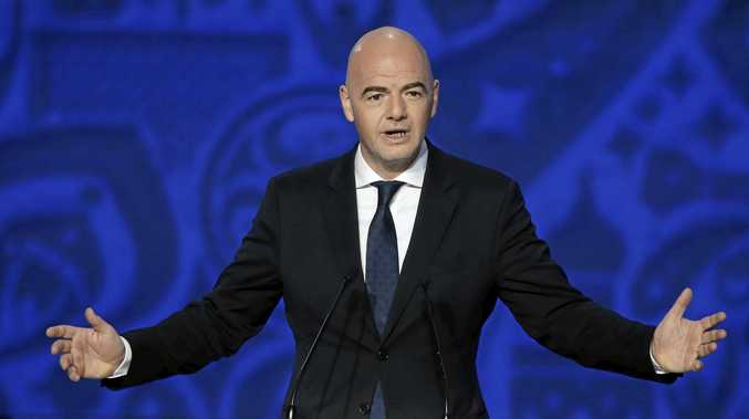 WORLD CUP GROWTH: FIFA President Gianni Infantino wants 48 countries in the World Cup.