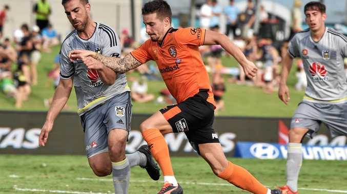 CAREER CHOICE: Roar player Jamie Maclaren has the world at his feet.