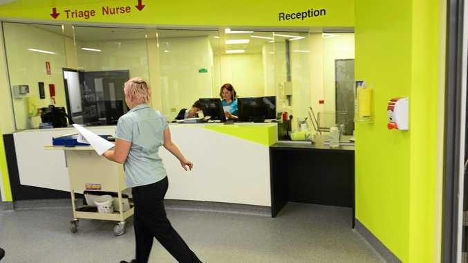 LIFE SAVERS: Ipswich Hospital Emergency Department.