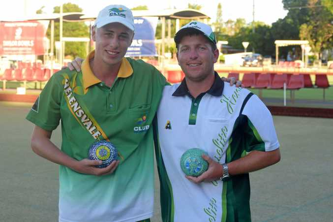 Jayden Christie and Sean Ingham won the Summerland Pairs