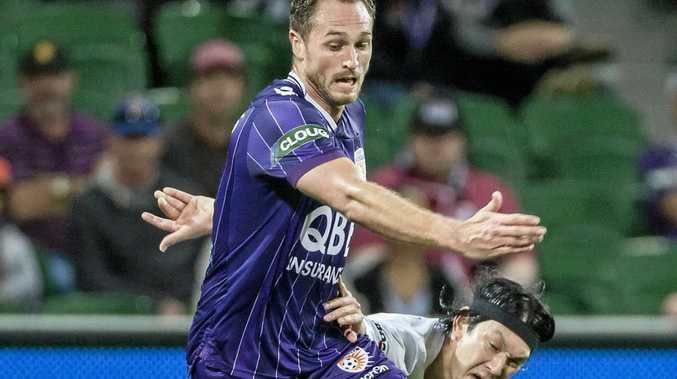 LIFT NEEDED: Rostyn Griffiths says the Perth Glory haven't played to their potential.