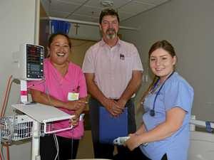 Nurses spend holidays caring for others
