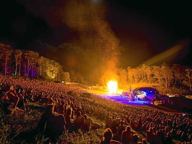 CLOSING CEREMONY: The Fire Event is Woodford Folk Festival's biggest ceremony.