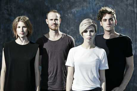 BAND: The Jezabels are Heather Shannon, Samuel Lockwood, Hayley Mary and Nikolas Kaloper.