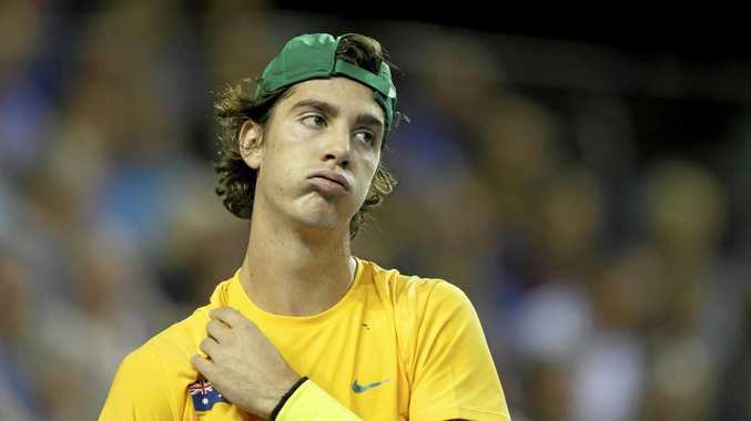 COMEBACK: Thanasi Kokkinakis will return to tennis in doubles at the Brisbane International.