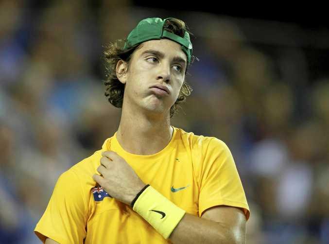 COMEBACK: Thanasi Kokkinakis will return to tennis in doubles at the Brisbane International.