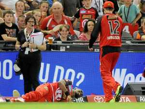 Bravo out of Big Bash with hurt hamstring