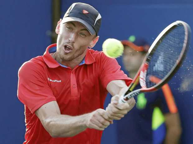 NEEDS TIME: John Millman has withdrawn from the Brisbane International because he has not quite recovered from injury.