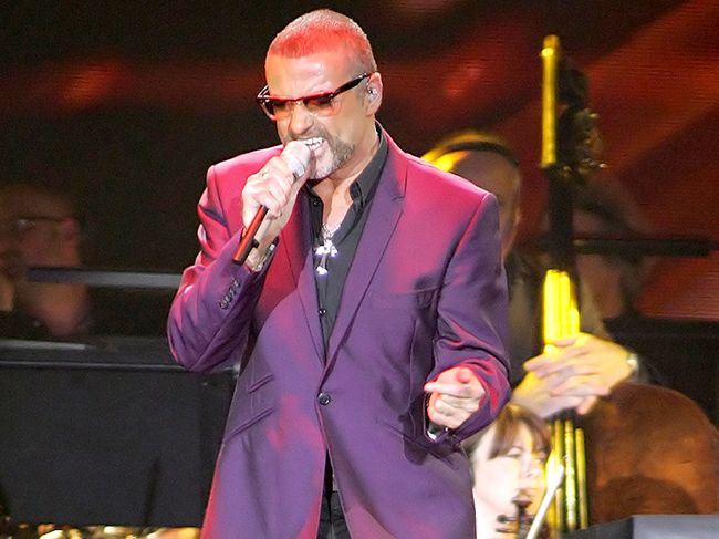 Singer George Michael.