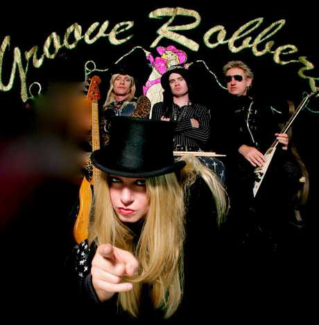 Groove Robbers play tonight.