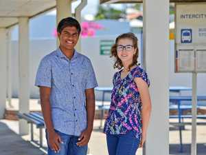Life-changing chance for two of Gladstone's brainiest kids