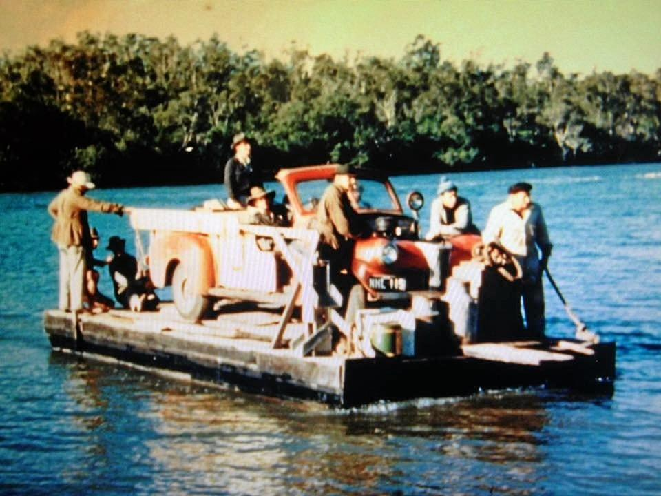 Way back in the day - think mid 1960s when this was the only way across the Noosa River to the North Shore.
