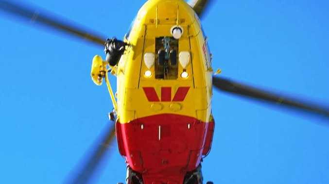 The Westpac Life Saver Rescue Helicopter