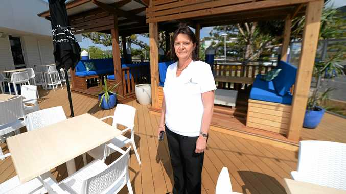 KEEN INTEREST: Keppel Bay Sailing Club manager Julie Strudwick says she's had a stonrg response from job seekers after advertising for several positions.