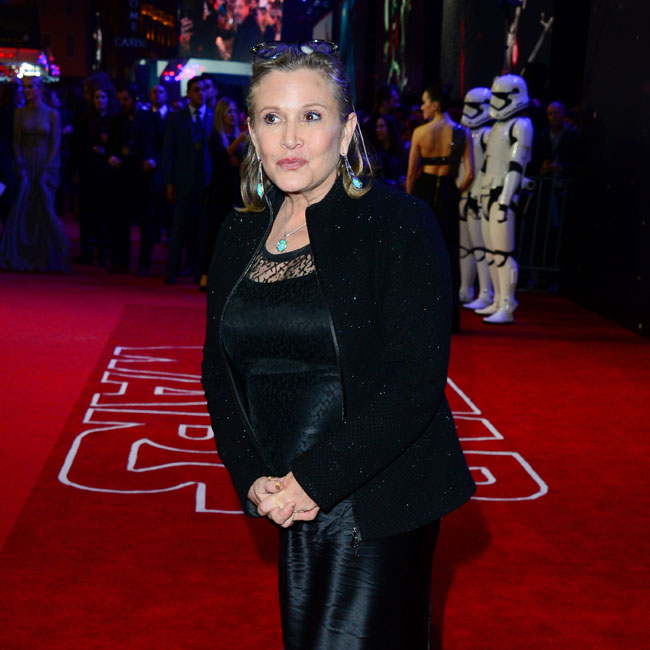 Carrie Fisher died on December 27.