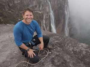 Naturalist Steve Backshall on tour in Queensland this week