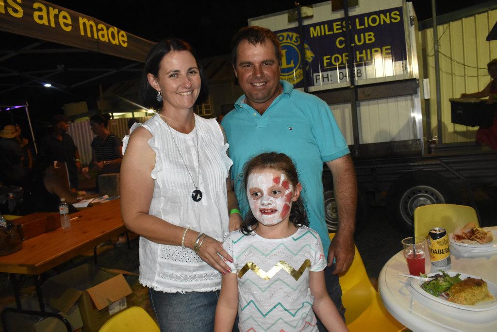 Image for sale: Brian, Rebecca and Peyton Moran.