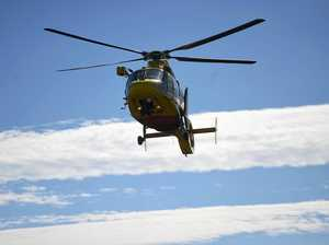Skateboarder, Mt Lindesay man assisted by helicopter