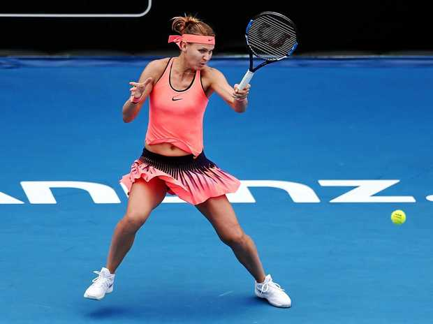 EASY WIN: Lucie Safarova of Czech Republic defeated countrywoman Denisa Allertova of Czech Republic on day one of the ASB Classic in Auckland.