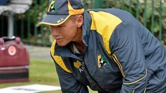 Helensvale lawn bowler Brett Wilkie