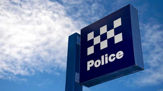 Police were need to restrain a man on drugs at the Falls Festival.