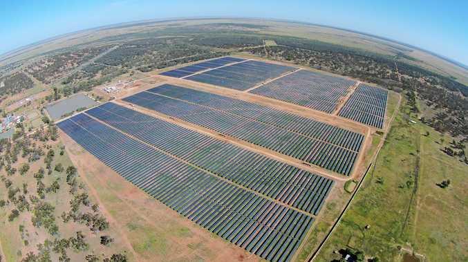 The Barcaldine Remote Community Solar Farm.