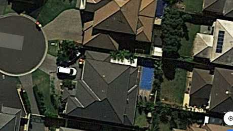 The Kellyville home where twins drowned.