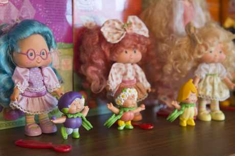 Maria Hogan says these Berrykins are her favourite of her extensive collection of Strawberry Shortcake collection.