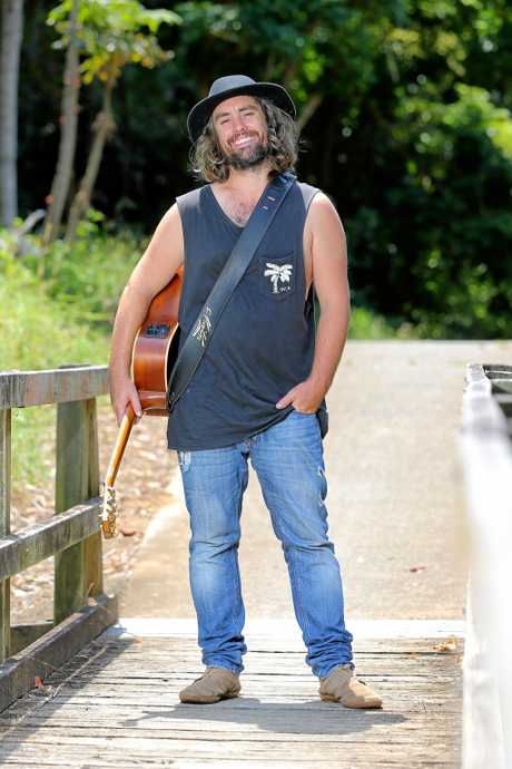 Buringbah's Matty Rogers will play the Coolangatta Sands Hotel on Saturday from 8.30pm.